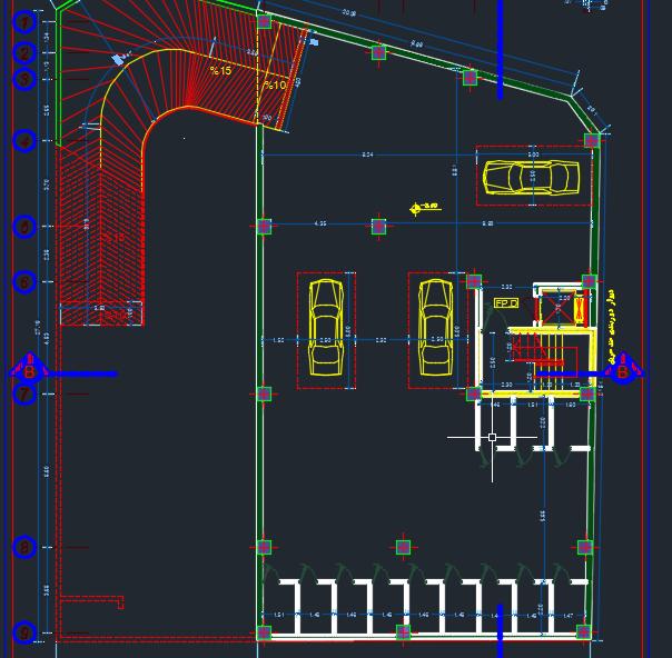 نقشه 6 طبقه بتنی فول (2)