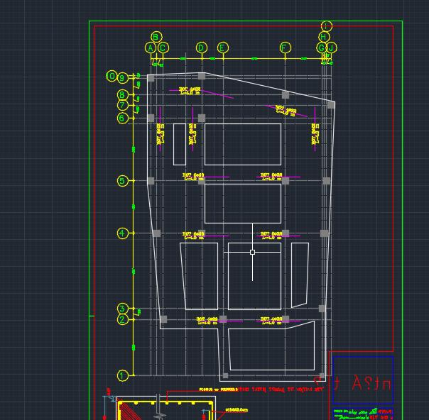 نقشه 6 طبقه بتنی فول (7)