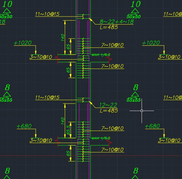 نقشه 6 طبقه بتنی فول (8)